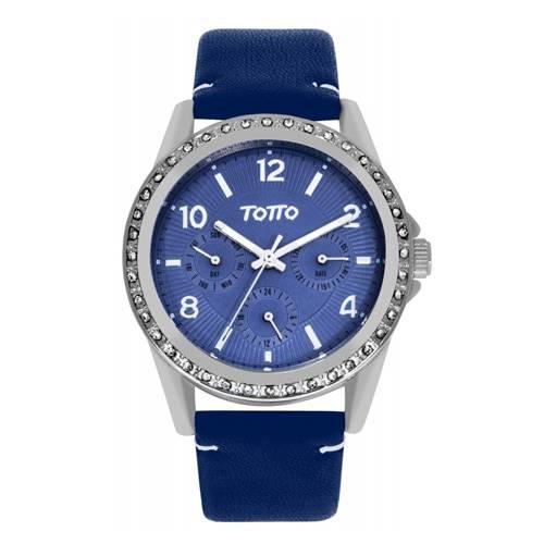 Reloj análogo azul-azul 14-2