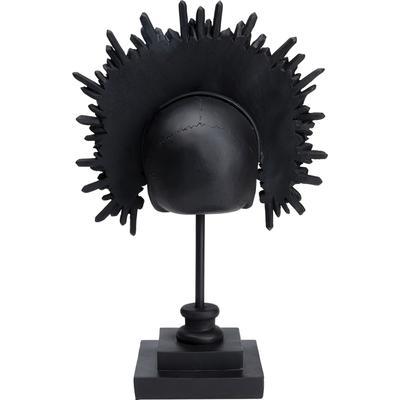 Objeto deco King Skull negro 49cm