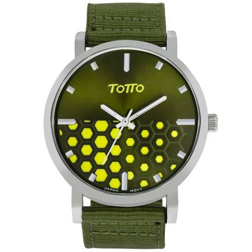 Reloj análogo verde-verde 25-3