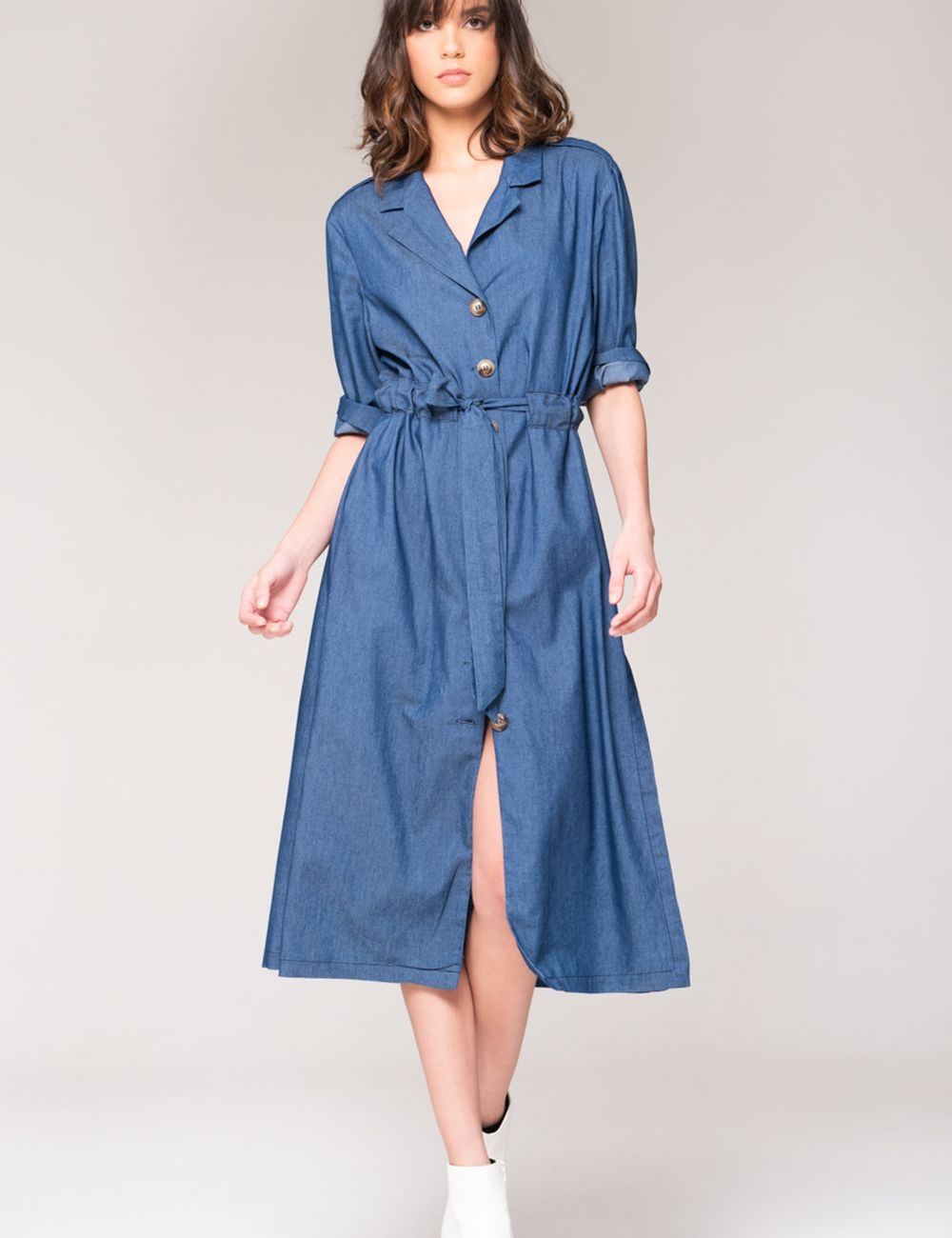 MAXIVESTIDO DENIM