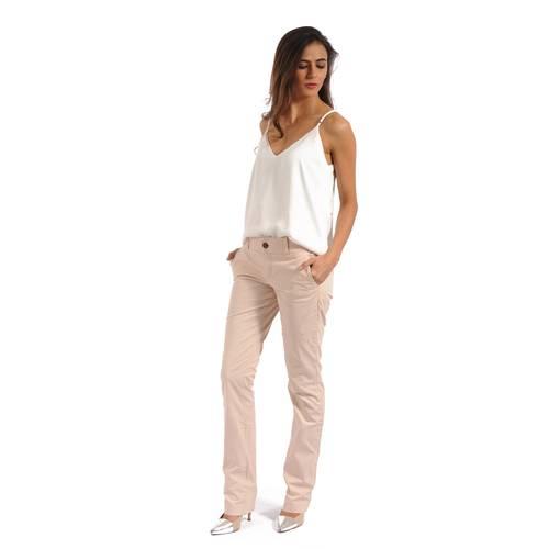 Pantalon Color Siete para Mujer - Rosado