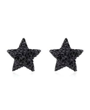 Aretes Star Ne45-B Negro - Warme Farben