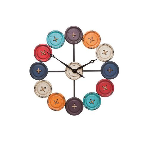 Reloj pared Buttons