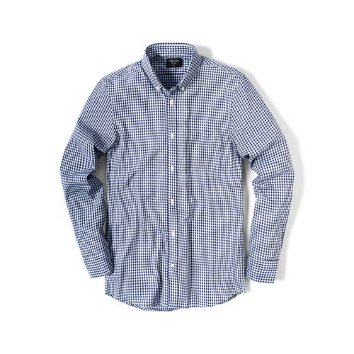 Camisa Wooter Color Siete Para Hombre  - Azul