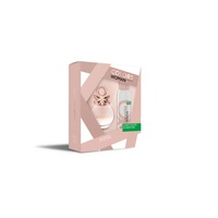 Benetton Colors Rose Estuche (Edt 80Ml + Deo 150Ml )