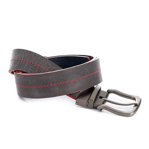 Cinturón doble faz lyra gris