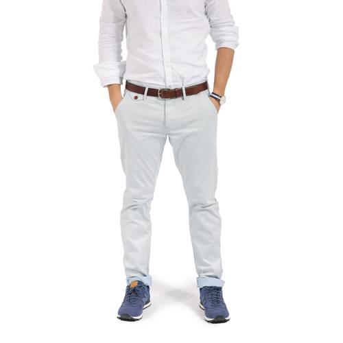 Pantalon Cavalier Color Siete para Hombre-Azul