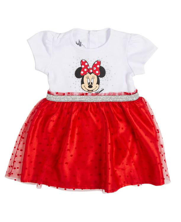 Vestido Bebita Minnie