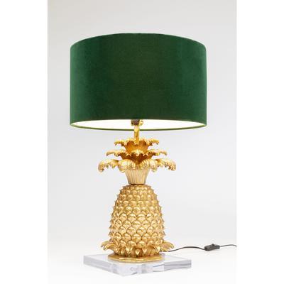 Lámpara mesa Pineapple oro 66cm