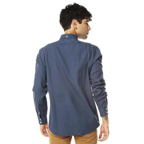Camisa Manga Larga Miller Jack Supplies para Hombre - Azul