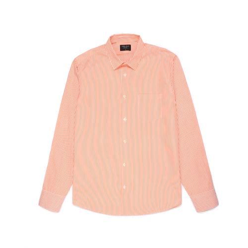 Camisa Thompson Rayas - Naranja