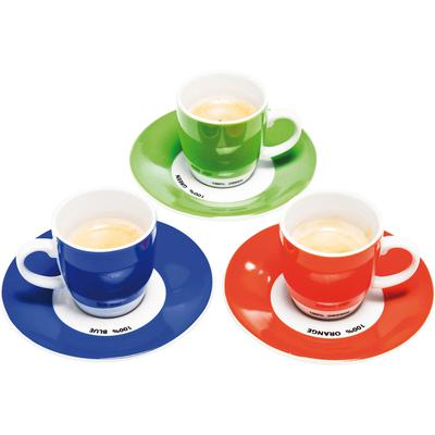 Taza de café Pop Art Assorted (2/Set)