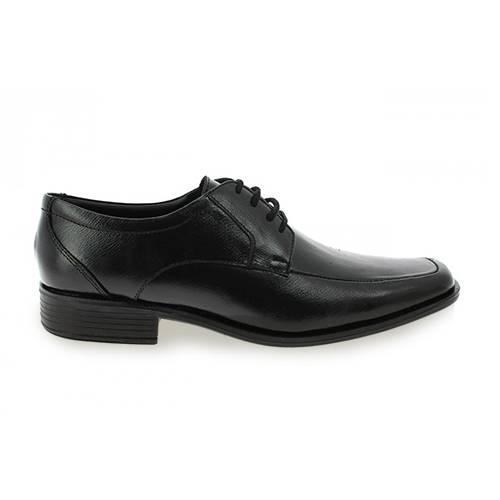 Zapato Formal Para Hombre En Cuero Negro