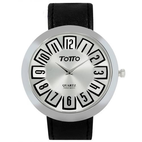 Reloj Plateado/Negro - Tr007-4