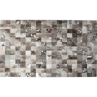 Alfombra Cosmo piel gris 200x300cm