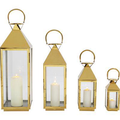Faroles Giardino oro (4/Set)