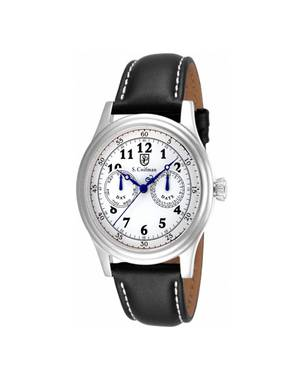 Reloj análogo blanco-negro 0274