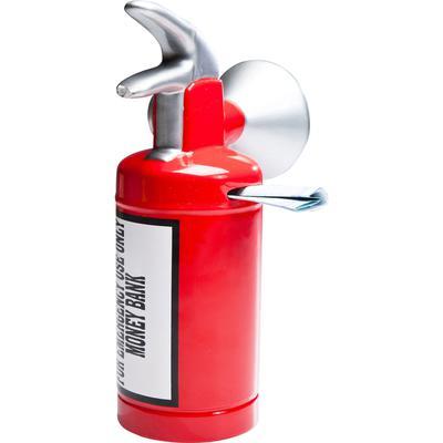 Alcancía Caution Fire