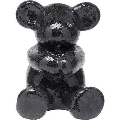 Objeto decorativo Teddy Bear Hug negro