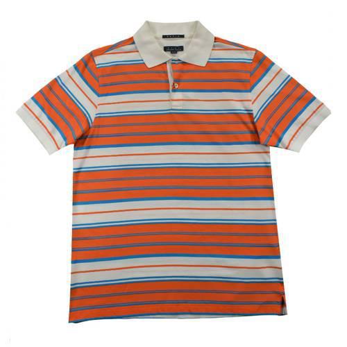 Camiseta Pol Rayas Jersey Naranja