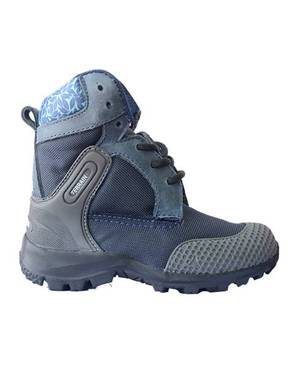 Botas Azul con Gris