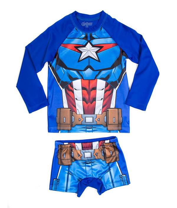 Conjunto Baño Niño Avengers