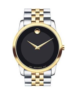 Reloj análogo negro-multicolor 6899