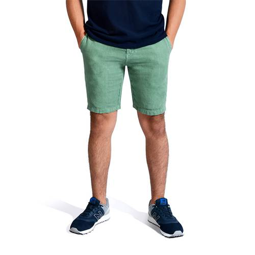 Short Color Siete para Hombre - Verde