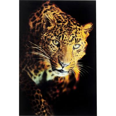 Cuadro cristal Leopard Shaka 120x80