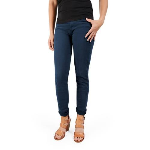 Pantalon Calistoga Cinco Bolsillos Color Siete Para Mujer - Azul