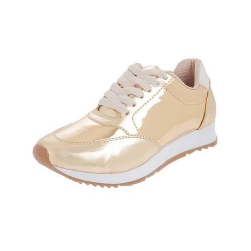 Zapatos Urban Oro Sneakers O00116 Oro - LUSOLE