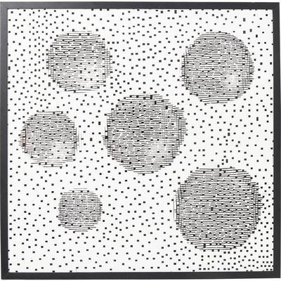 Cuadro Wall Art Planetary 100x100cm