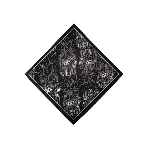 Bandana Estampada Trapical Minds X Rosé Pistol  - Negro
