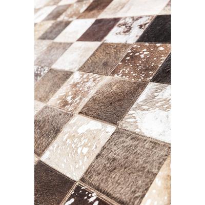 Alfombra Cosmo piel gris 170x240cm