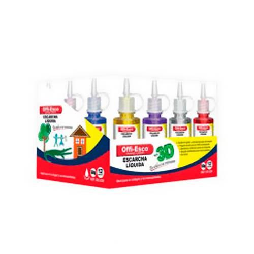 Escarcha Liquida 35 Gr Caja X12 Colores Surtidos