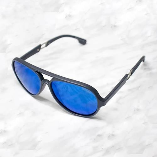 Gafas de sol polarizada con filtro UV 400 Azul - Negro