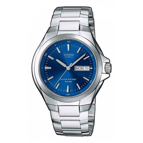 Reloj Análogo Azul-Plateado MTP-1228D-2A - Casio