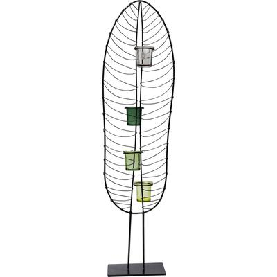 Portavelas Leaf Wire 86cm