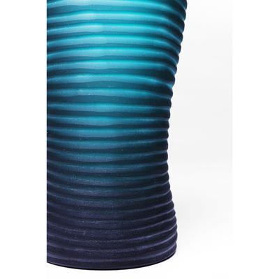Vasija Swirl turquesa 31cm