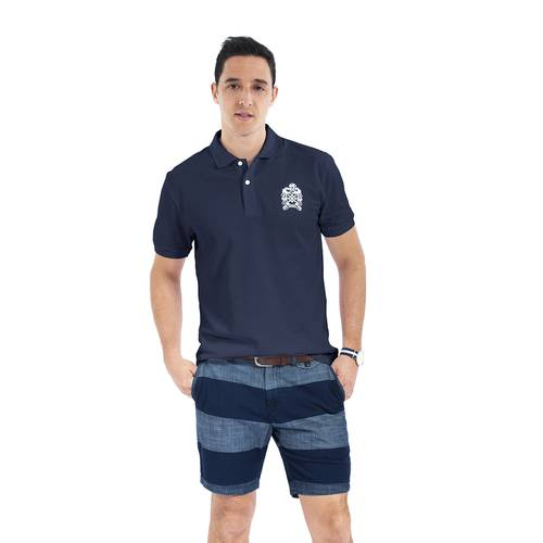 Polo Color Siete para Hombre Azul - Bernal