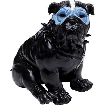 Alcancía Blue Mask Bulldog negro