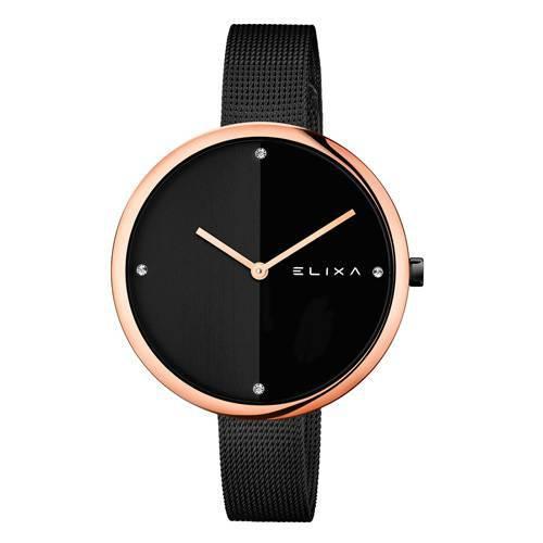Reloj Beauty Negro/Plateado 6-L427  - ELIXA