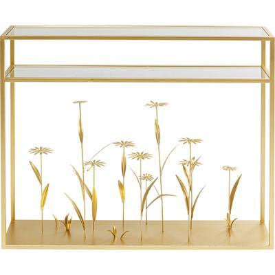 Consola Flower Meadow oro 100cm