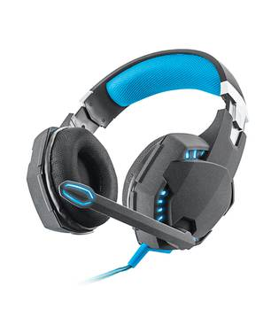 Audifono Diadema Gamer Gxt 363 Hawk 7.1 Bass Vibration Negro