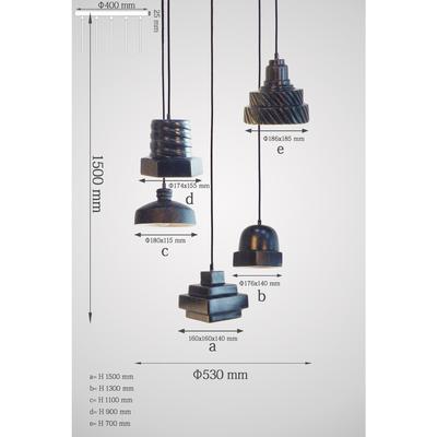 Lámpara Tool Spiral Ø53cm