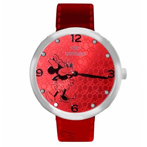 Reloj Plateado/Rojo - Umb-Mm01-3