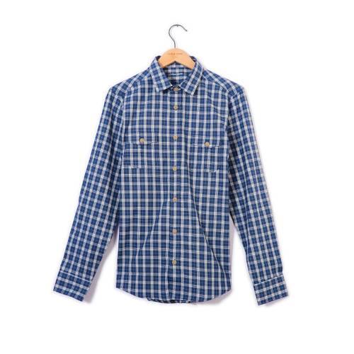 Camisa Manga Larga Hudson Color Siete para Hombre