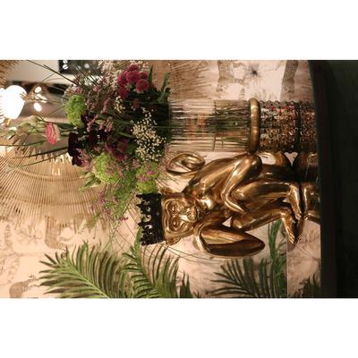 Figura deco King Lui oro 35cm