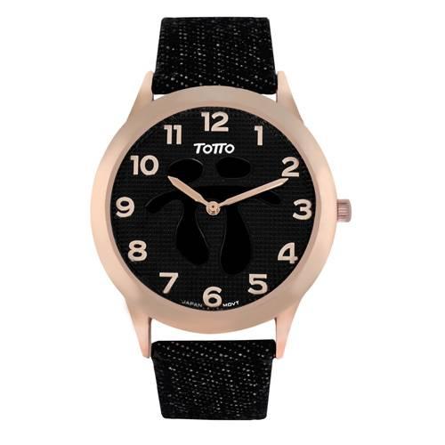 Reloj análogo negro-negro 11-1