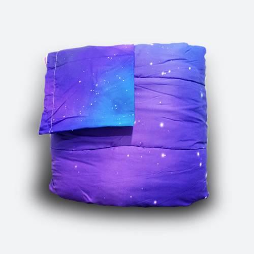 Acolchado impresión digital cama sencilla y semidoble